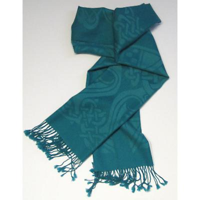 100% Wool Scarf by Patrick Francis - Green