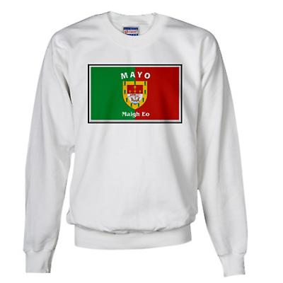 Irish Sweatshirt - Irish County Sweatshirt Full Chest - White