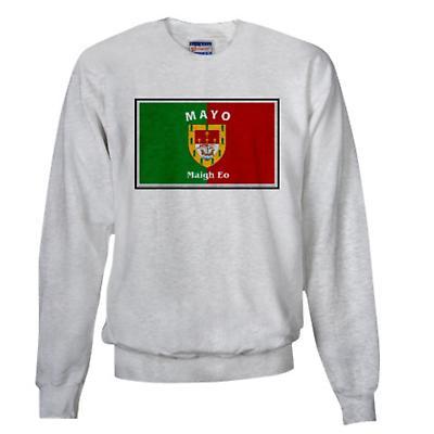 Irish Sweatshirt - Irish County Sweatshirt Full Chest - Grey