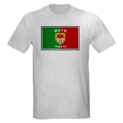 Irish T-Shirt - Irish County T-Shirt Full Chest - Grey