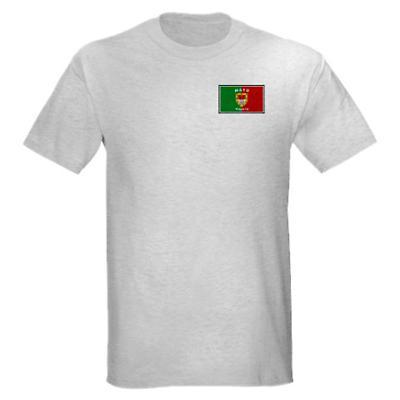 Irish T-Shirt - Irish County T-Shirt Left Chest - Grey