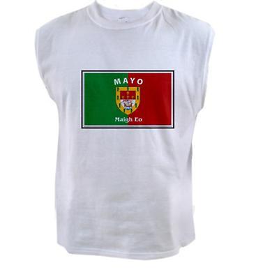 Irish T-Shirt - Irish County Sleeveless T-Shirt Full Chest