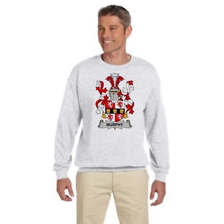 Personalized Coat of Arms Adult Crew Neck Sweatshirt