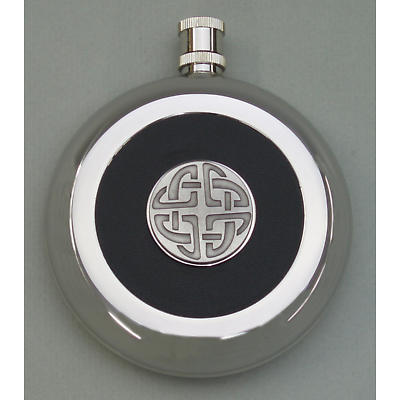 Celtic Knot Flask with Hidden Cup