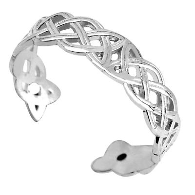 Celtic Ring - Ladies Sterling Silver Celtic Knot Toe Ring