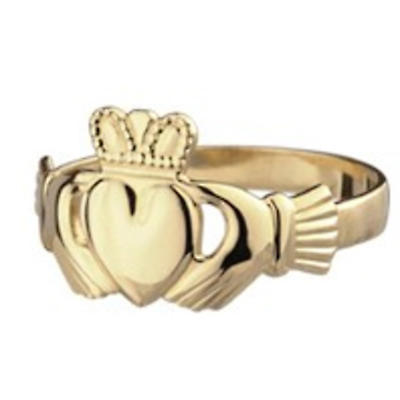 Claddagh Ring - Ladies 14k Gold Traditional Claddagh