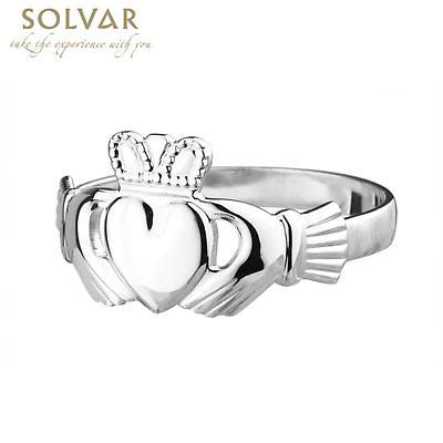 Claddagh Ring - Ladies Sterling Silver Claddagh