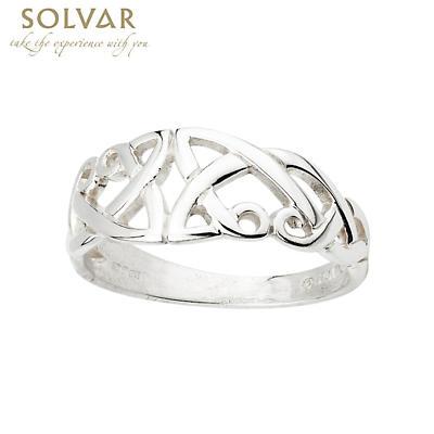 Celtic Ring - Sterling Silver Celtic Split Shank
