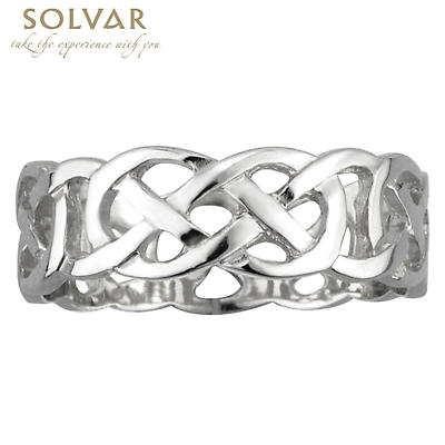 Celtic Ring - Ladies and Men's Sterling Silver Celtic Knot