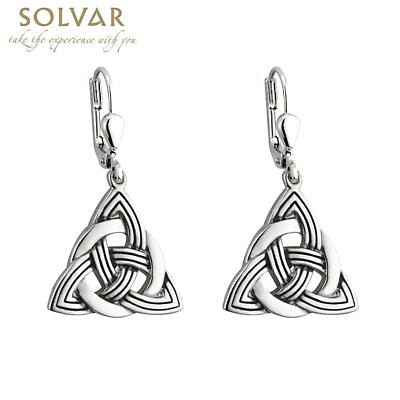 Celtic Earrings - Celtic Trinity Knot Earrings