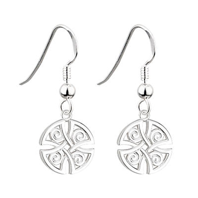Celtic Earrings - Round Celtic Earrings