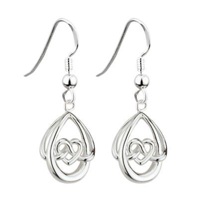 Celtic Earrings - Sterling Silver Fashion Celtic Earrings