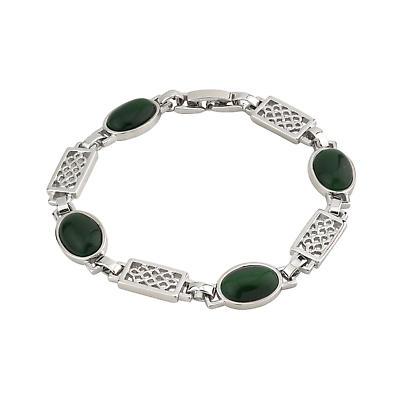 Celtic Bracelet - Green Celtic Color Bracelet