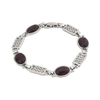 Purple Celtic Color Bracelet