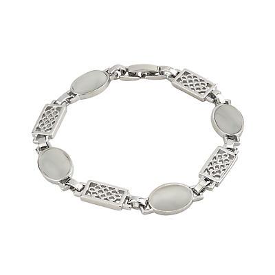 Celtic Bracelet - White Celtic Color Bracelet