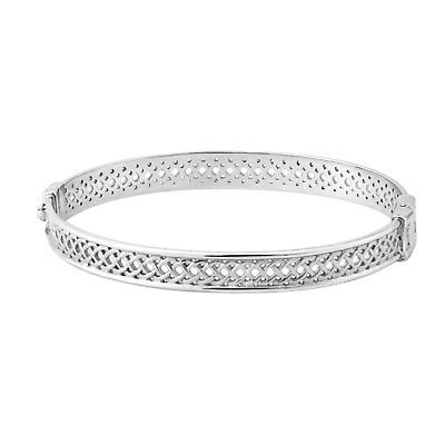 Celtic Bangle Sterling Silver Celtic Knot Irish Bangle