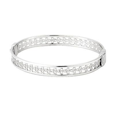 Celtic Bangle - Sterling Silver Celtic Trinity Knot Bangle