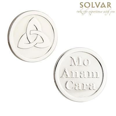 Irish Trinity Knot Coin by Solvar Jewelry
