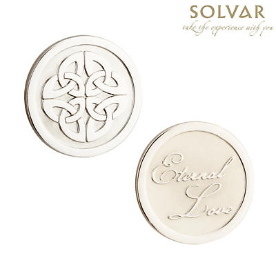 Irish Celtic Knot Coin by Solvar Jewelry