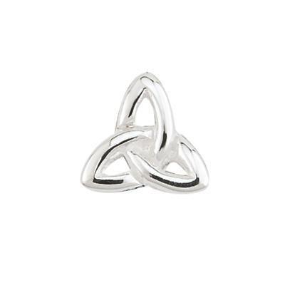 Sterling Silver Trinity Knot Aura Celebration Charm