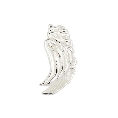 Sterling Silver Angel Wing Aura Celebration Charm