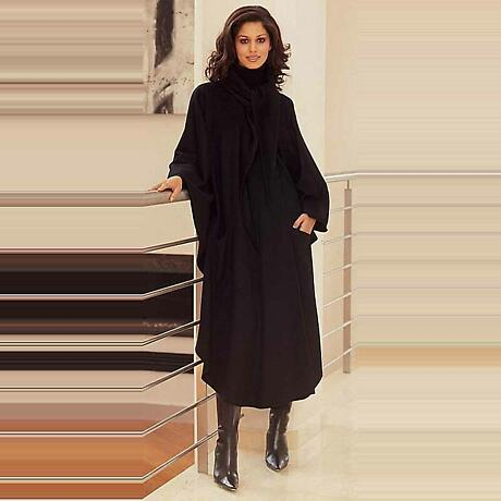 Luxury Irish New Wool Cape