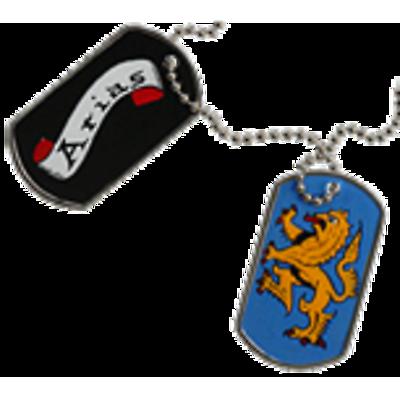 Irish Coat of Arms Dog Tags