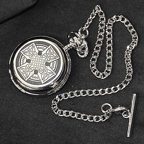 Celtic Cross Pocket Watch