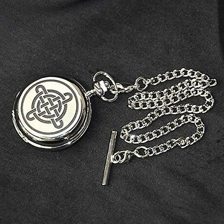 Celtic Knot Pocket Watch