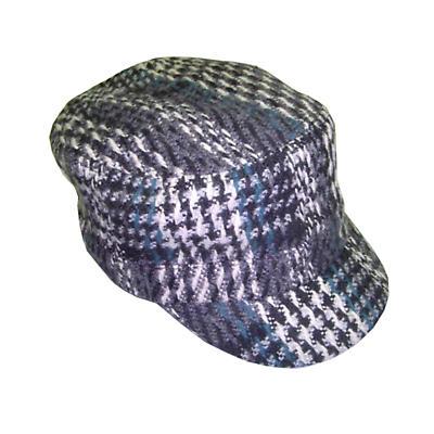 Ladies Shandon Cap - Black Check