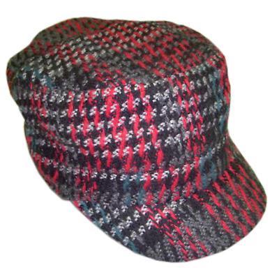 Ladies Shandon Cap - Red Check