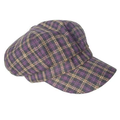 Ladies Irish Cabbie Cap - Purple