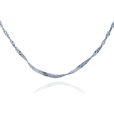 """Irish Necklace - Sterling Silver 18"""" Chain"""