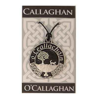 Personalized Irish Coat of Arms Pendant