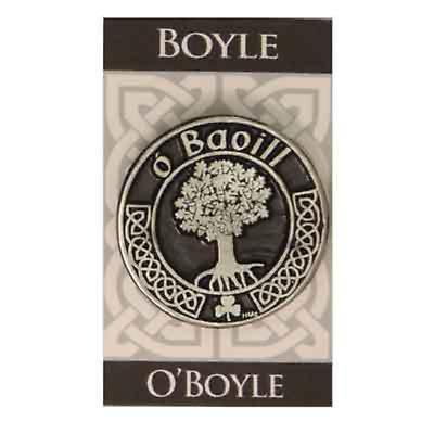Personalized Irish Coat of Arms Cap Badge