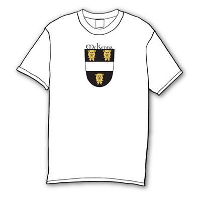 Irish T-Shirt - Personalized Irish Coat of Arms Crest