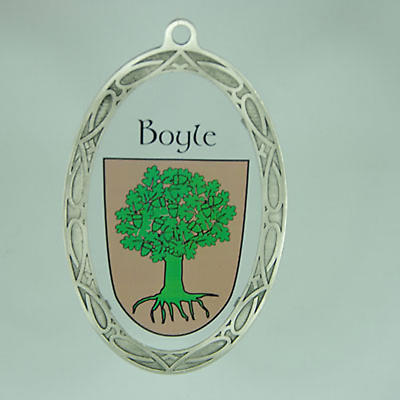 Personalized Irish Coat of Arms Sun Catcher