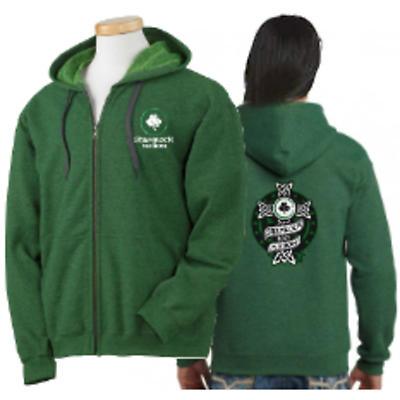 Irish Sweatshirt - Celtic Wrap Zip Hooded Sweatshirt