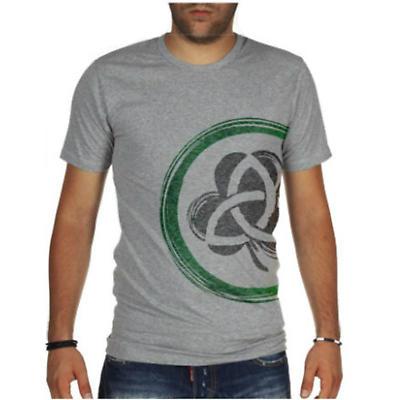Irish T-Shirt - Shamrock & Trinity Knot Modern Fit T-Shirt