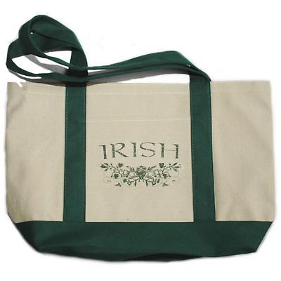 Irish Claddagh Canvas Tote Bag