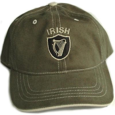 Irish Harp Shield Cap