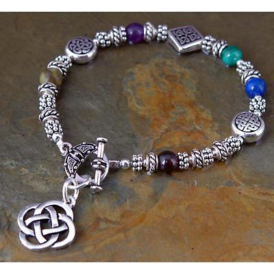 Celtic Bracelet - Sacred Numbers Bracelet