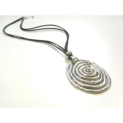 Irish Necklace - Long Spiral Necklace