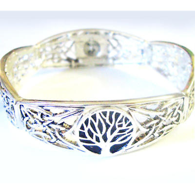 Irish Bracelet - Tree of Life Silver Tone Bracelet