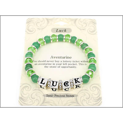 "Irish Bracelet - Irish ""Luck"" Stretch Bracelet"