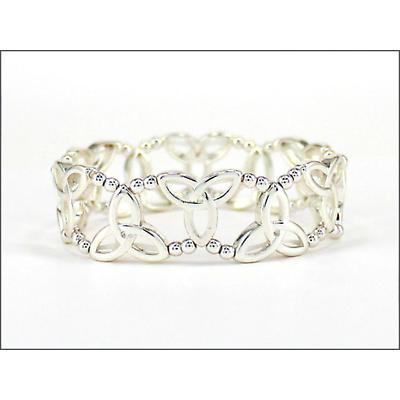 Trinity Knot Bracelet - Small Trinity Knot Stretch Bracelet