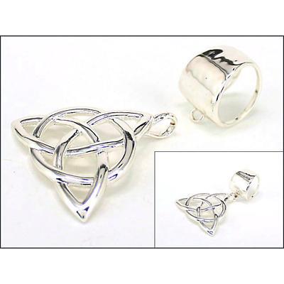 Trinity Knot Jewelry - Trinity Knot Scarf Jewelry