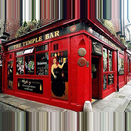 Temple Bar, Dublin Photographic Print