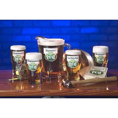 Personalized Traditional Irish Pub 60 oz. Pitcher