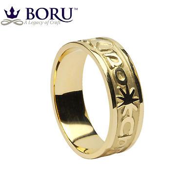 Irish Ring - Men's Gra Geal Mo Chroi 'Love of my heart' Irish Wedding Ring